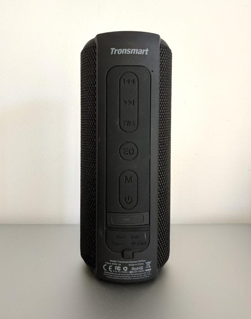 Tronsmart T6 Plus - Pulsanti